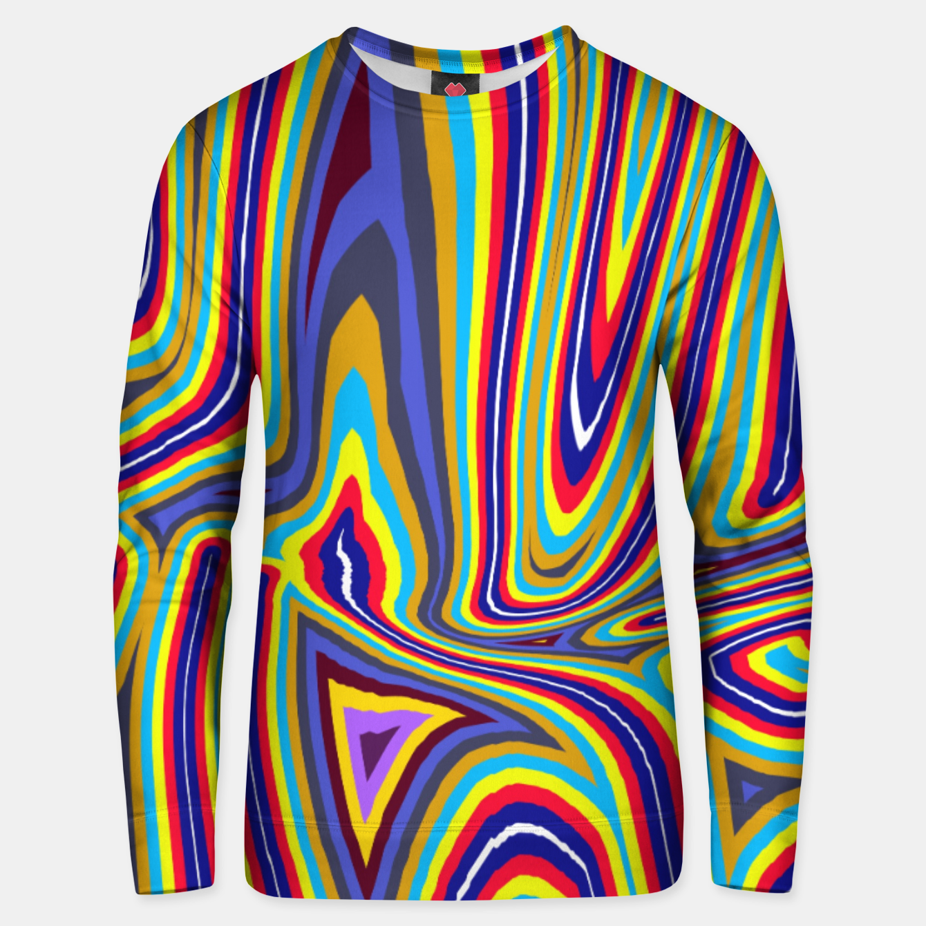 Image of Curly Swirls Unisex sweater - Live Heroes