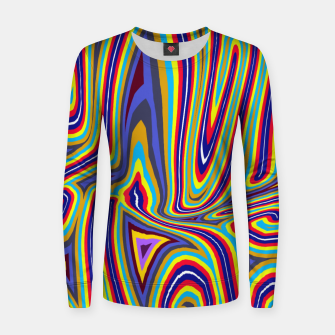 Thumbnail image of Curly Swirls Women sweater, Live Heroes