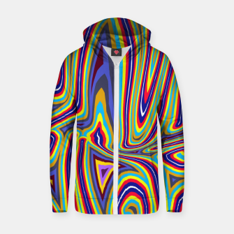 Thumbnail image of Curly Swirls Zip up hoodie, Live Heroes