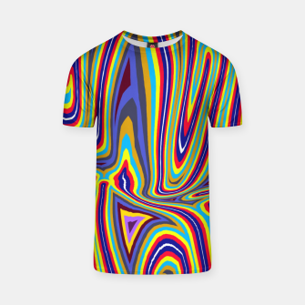 Thumbnail image of Curly Swirls T-shirt, Live Heroes