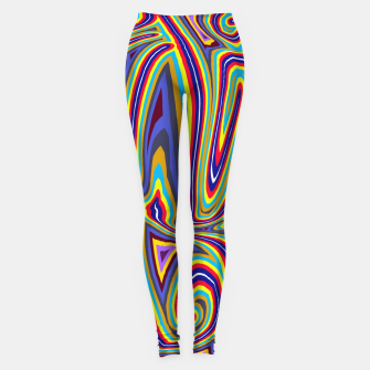 Thumbnail image of Curly Swirls Leggings, Live Heroes