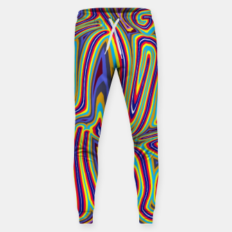 Thumbnail image of Curly Swirls Sweatpants, Live Heroes