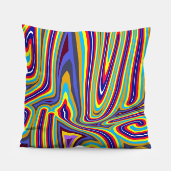 Thumbnail image of Curly Swirls Pillow, Live Heroes