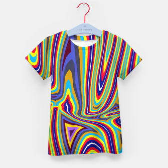 Thumbnail image of Curly Swirls Kid's t-shirt, Live Heroes