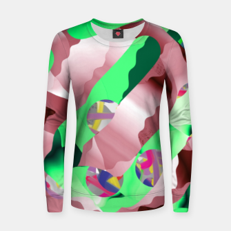 Thumbnail image of Mint bom Women sweater, Live Heroes
