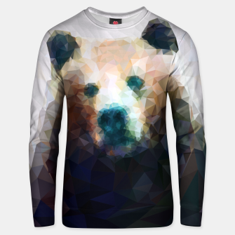 Miniature de image de Bear Grizzly Low Poly Geometric Animal Wildlife Unisex sweater, Live Heroes