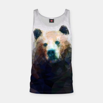 Miniature de image de Bear Grizzly Low Poly Geometric Animal Wildlife Tank Top, Live Heroes