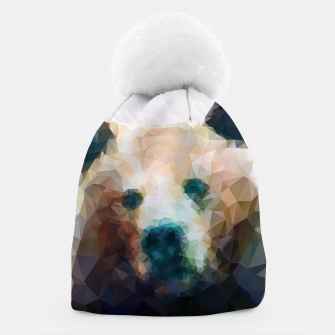 Miniature de image de Bear Grizzly Low Poly Geometric Animal Wildlife Beanie, Live Heroes