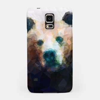 Miniature de image de Bear Grizzly Low Poly Geometric Animal Wildlife Samsung Case, Live Heroes