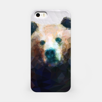 Miniature de image de Bear Grizzly Low Poly Geometric Animal Wildlife iPhone Case, Live Heroes