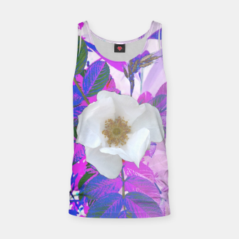 Thumbnail image of wild white rose Tank Top, Live Heroes