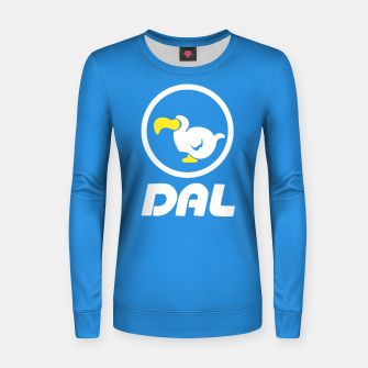 Miniatur animal crossing dal dodo airlines Sudadera para mujeres, Live Heroes