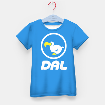 Thumbnail image of animal crossing dal dodo airlines Camiseta para niños, Live Heroes