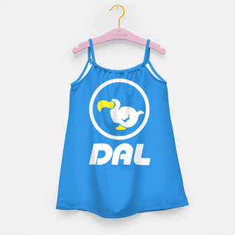 Thumbnail image of animal crossing dal dodo airlines Vestido para niñas, Live Heroes