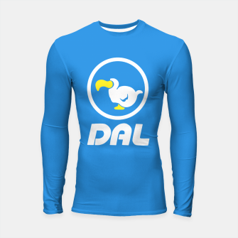Thumbnail image of animal crossing dal dodo airlines Longsleeve rashguard, Live Heroes