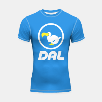 Thumbnail image of animal crossing dal dodo airlines Shortsleeve rashguard, Live Heroes