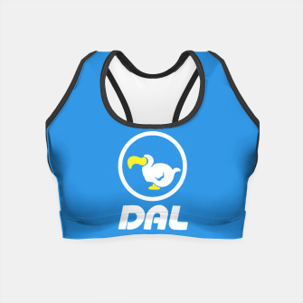 Thumbnail image of animal crossing dal dodo airlines Crop Top, Live Heroes