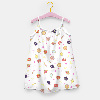 Thumbnail image of sailor moon cute pattern Vestido para niñas, Live Heroes