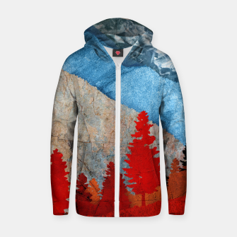 Thumbnail image of One forest Zip up hoodie, Live Heroes