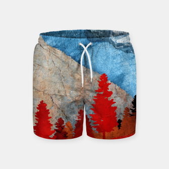 Thumbnail image of One forest Swim Shorts, Live Heroes