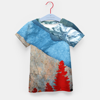 Thumbnail image of One forest Kid's t-shirt, Live Heroes