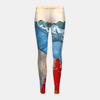 Thumbnail image of One forest Girl's leggings, Live Heroes