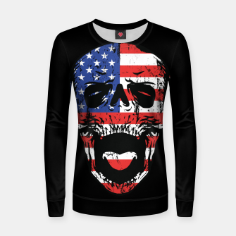 Thumbnail image of American Till Die Women sweater, Live Heroes