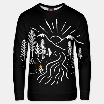 Thumbnail image of Camping and River Unisex sweater, Live Heroes