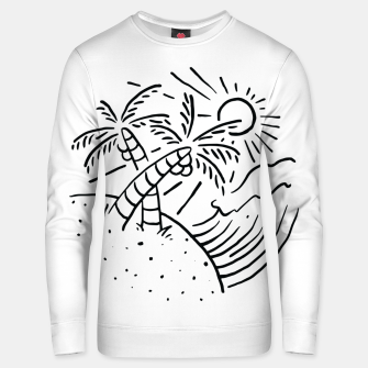 Miniatur Beach and Waves Unisex sweater, Live Heroes