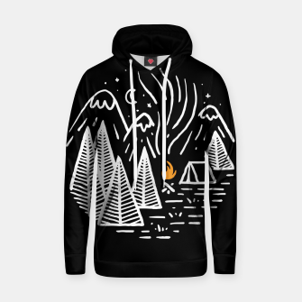 Thumbnail image of Camping and Bonfire Hoodie, Live Heroes