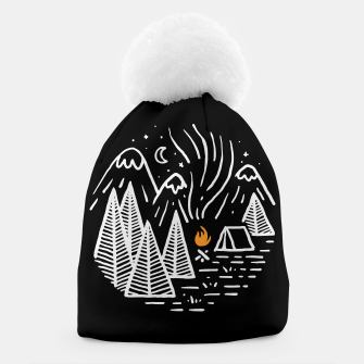 Thumbnail image of Camping and Bonfire Beanie, Live Heroes