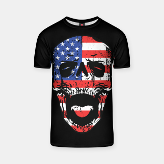 Thumbnail image of American Till Die T-shirt, Live Heroes