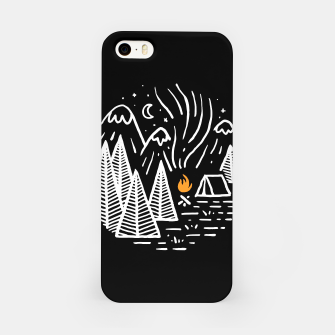 Thumbnail image of Camping and Bonfire iPhone Case, Live Heroes