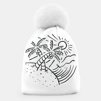 Thumbnail image of Beach and Waves Beanie, Live Heroes