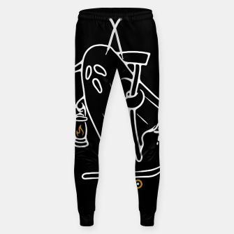 Thumbnail image of Ghost Skateboarding Sweatpants, Live Heroes