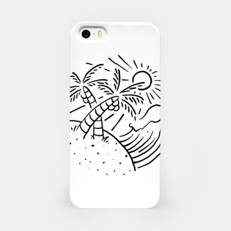 Miniatur Beach and Waves iPhone Case, Live Heroes