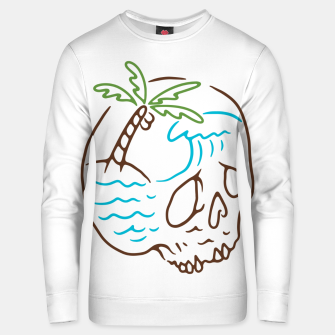 Thumbnail image of Skull Summer Mind Unisex sweater, Live Heroes