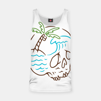 Thumbnail image of Skull Summer Mind Tank Top, Live Heroes