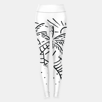Thumbnail image of Beach and Waves Leggings, Live Heroes
