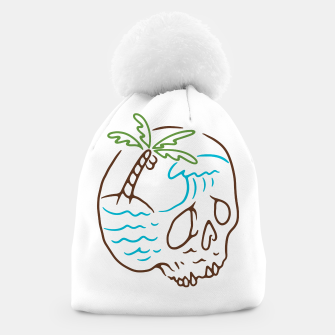 Thumbnail image of Skull Summer Mind Beanie, Live Heroes