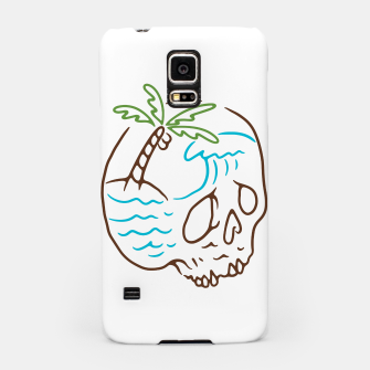 Thumbnail image of Skull Summer Mind Samsung Case, Live Heroes