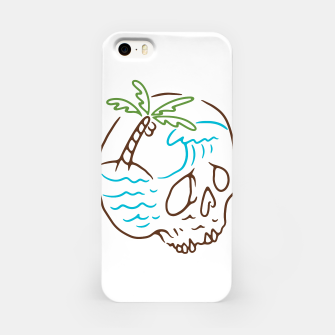 Thumbnail image of Skull Summer Mind iPhone Case, Live Heroes