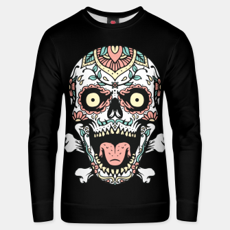 Thumbnail image of Mexican Skull Unisex sweater, Live Heroes