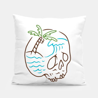 Thumbnail image of Skull Summer Mind Pillow, Live Heroes