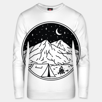 Thumbnail image of Night Camping Unisex sweater, Live Heroes