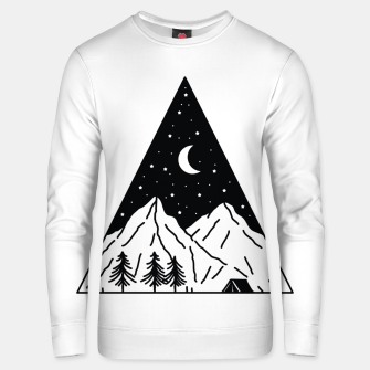 Thumbnail image of Night Camping Triangle Unisex sweater, Live Heroes
