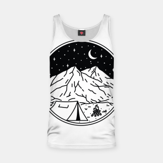 Miniaturka Night Camping Tank Top, Live Heroes