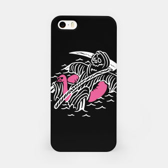 Thumbnail image of Grim Reaper Relax iPhone Case, Live Heroes