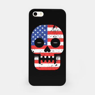 Thumbnail image of America Till Die iPhone Case, Live Heroes
