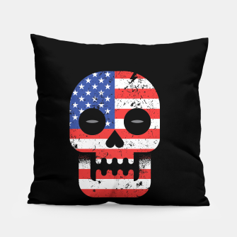Thumbnail image of America Till Die Pillow, Live Heroes